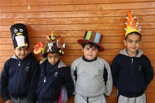 ISC-Suleimaniah Holds Crazy Hat Day